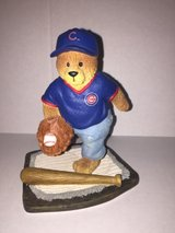 Cub Baseball Bear figurine in Lockport, Illinois