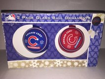 Cubs Ornaments in Aurora, Illinois