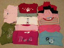 SIZE 3T Girls Lot of 13 Long Sleeve Shirts in Joliet, Illinois