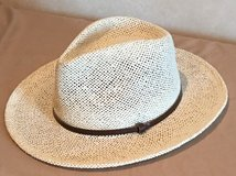 Hand Made, Loose Weave, Fedora Panama Hat in Okinawa, Japan