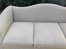 Hickory Chair Green Chippendale Sofa / Couch with 5 Accent Pillows in Glendale Heights, Illinois