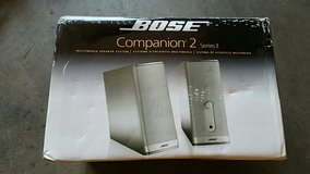 Bose companion II speaker in Fort Lewis, Washington