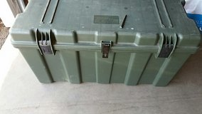 Storage box, green in Tacoma, Washington