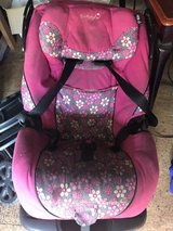 Child's car seat in Camp Lejeune, North Carolina