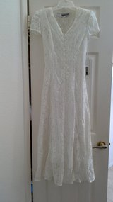 NEW White Lace Dress (size 5) in Camp Pendleton, California