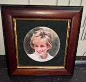 DIANA THE PEOPLE'S PRINCESS FRAMED PICTURE in Ramstein, Germany