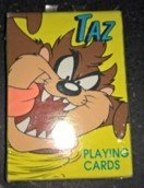 TAZ PLAYING CARDS WARNER BROS 1996 in Ramstein, Germany