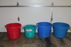 Heavy Duty Plastic Drink Tubs Great for Parties, Camping, Sporting Events (3) in Joliet, Illinois