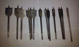 Wood Hole Saws Spade Bit Assortment in Elgin, Illinois