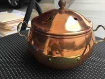 Vintage Brass n Copper  Potpourri Pot in Camp Pendleton, California