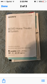 DVD/Home theater system in Warner Robins, Georgia