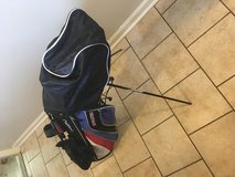 Golf clubs and bag in Camp Pendleton, California