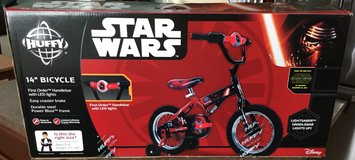 Star Wars Kyle Ren 14 inch bike new in Joliet, Illinois