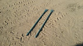 Six Foot Oars in 29 Palms, California