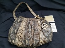 Genuine Leather Michael Kors Purse - New with Tags in Travis AFB, California