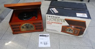 Crosley Rochester 5-IN-1 Entertainment Center in Ramstein, Germany