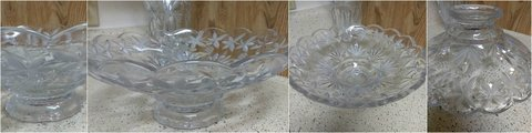 Mikasa Etched Bowl Centerpiece (large) Reduced! in Pearland, Texas