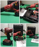 Set of 18v Chicago electric Tools in Clarksville, Tennessee