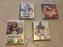 PS2, 3 and WII games, variety in Yucca Valley, California