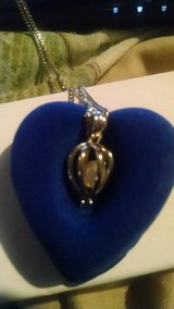Silver pearl necklace in Fort Drum, New York