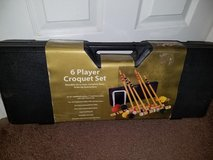 New / Baden Champions Deluxe 6 Player Complete Croquet Set in Clarksville, Tennessee