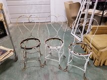 (2) Vintage Bistro Ice Cream Parlor Chairs Needs TLC in Chicago, Illinois