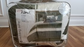 "10 pieces ""Queen size"" Jcp home bedding suite in Fort Bragg, North Carolina"