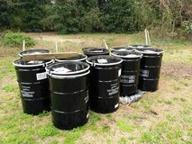55 gallon metal drums in Camp Lejeune, North Carolina