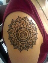 Win Free Henna Tattoos free free free this month in Conroe, Texas