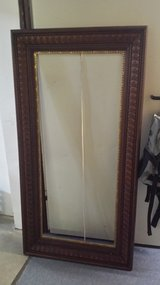 Picture frame solid carved wood very large in Ramstein, Germany