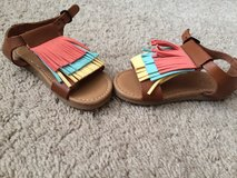 Leather Girl Sandals- Never worn in Clarksville, Tennessee