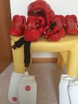 Kids karate sparring gear in Yorkville, Illinois