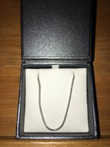 ROUND SNAKE SILVER NECKLACE- 18in in Okinawa, Japan
