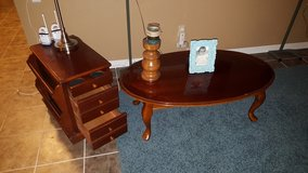 Wood living room tables in Travis AFB, California