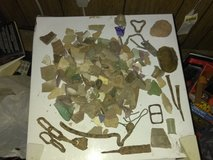 Civil war relics and other dug relics in Fort Campbell, Kentucky