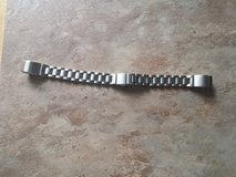 Fitbit Alta silver stainless steel watch band in Fort Campbell, Kentucky