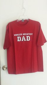 "New with tags!  ""World's Greatest Dad""  T-shirt in Chicago, Illinois"