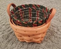 Longaberger Thyme Basket Liner and Protector in Plainfield, Illinois
