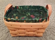 Longaberger Tea Basket, Protector and Liner in Plainfield, Illinois