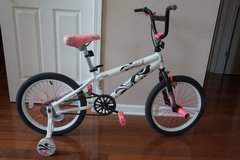 """Kid Bike Avigo 18"""" Bicycle (with removable training wheels) in Naperville, Illinois"""