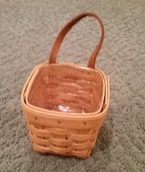 Longaberger Chives Basket, Protector and Liner in Westmont, Illinois