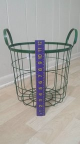 New!  Green Wire / Metal Basket in Chicago, Illinois