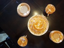 Peach Luster Carnival Glassware in Fort Campbell, Kentucky