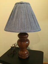 Solid Wood Lamp Base and shade in Joliet, Illinois