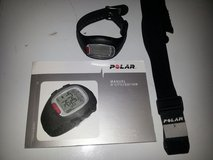 Polar RS100 Heart Rate Monitor Watch Chest Transmitter and Strap in Fort Benning, Georgia