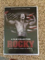 Rocky - New DVD set of 4 in Kingwood, Texas