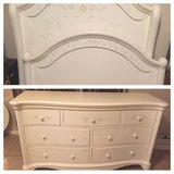 Ashley head board frame w dresser and mirror in Lawton, Oklahoma