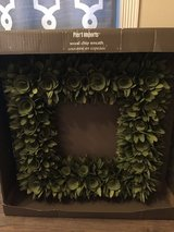 Brand new wood box wreath pier one imports in Fort Polk, Louisiana