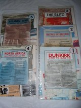 WWII Campaign Maps in Perry, Georgia