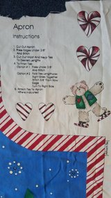 Christmas apron pattern in St. Charles, Illinois